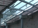 Budowa Szklanego Domu - marzec 2010r.