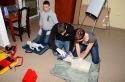 Szkolenie strażackie w siedzibie OSP Mąchocice Kapitulne - 2012r.