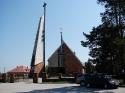 Kościół w Wiśniówce, kwiecień 2009r.