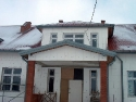 Dom Ludowy w Woli Kopcowej - budowa, 2005r.