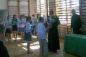 Biskup Florczyk w szkole w Brzezinkach - 2009r.