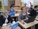 Nauczyciele uczą się obsługi interaktywnych tablic - 5.04.2011r.