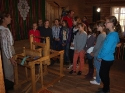 Warsztaty tkackie w Szklanym Domu - 18.10.2011r.