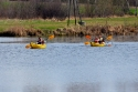 Każdy mógł popływać po zalewie w Ciekotach - 22.04.2012r.