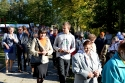 Uroczystość sadzenia dębów pamięci w Mąchocicach Kapitulnych - 1.10.2012r.