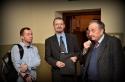 Witraż Adama Wolskiego odsłonięty w Masłowie - 9.03.2012r.
