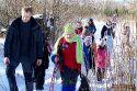 Zimowy rajd tropami dzikich zwierząt - 4.02.2014r.