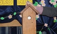 Uczniowie ze Scholasterii budowali budki lęgowe