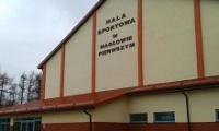 Hala w Masłowie: są wolne terminy na wynajęcie obiektu