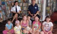 Spotkanie z policją w gminnej bibliotece