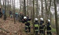 Paralotniarz zawisł na drzewie
